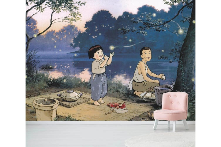 3D Grave Of The Fireflies 022 Anime Wall Murals Self-adhesive Vinyl, XXL 312cm x 219cm (WxH)(123''x87'')