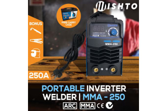 ARC 250Amp Stick Welder DC Inverter MMA Welding Machine IGBT Portable 10A Plug