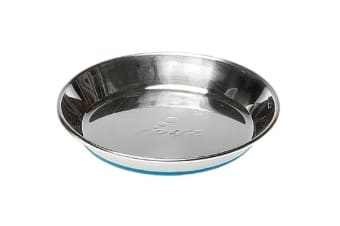 Rogz Anchovy Stainless Steel Cat Bowl Blue