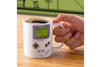 Game Boy Heat Change Mug | Game Boy Screen `Lights` Up!