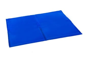 Pet Cool Gel Mat Dog Cat Bed Non-Toxic Cooling Mats Summer Pad Multi Sizes  -  50x40cm50x40cm