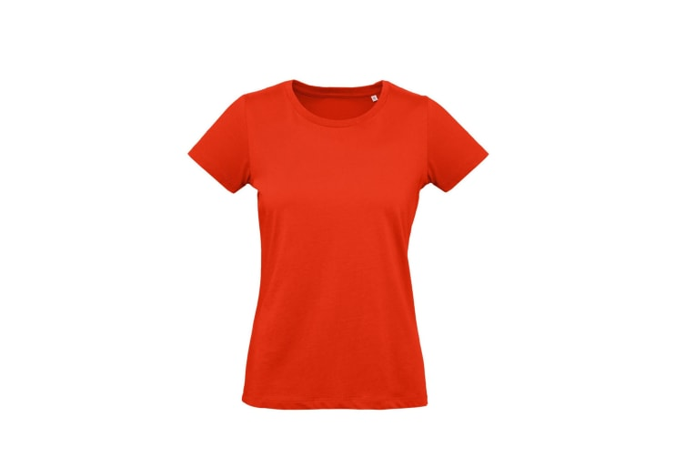 B&C Womens/Ladies Inspire Plus Tee (Fire Red) (M)