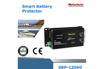 Mototmate  12V 60A Max  smart battery protector automatically detects low voltage