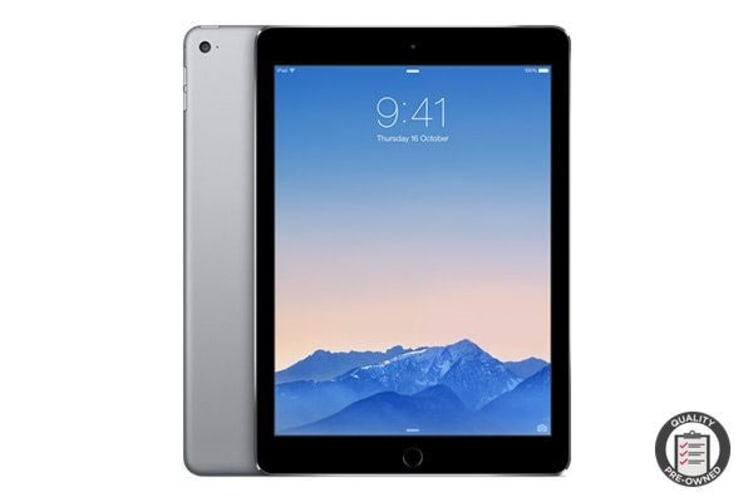 Apple iPad Air 2 Refurbished (128GB, Wi-Fi, Space Grey) - A Grade