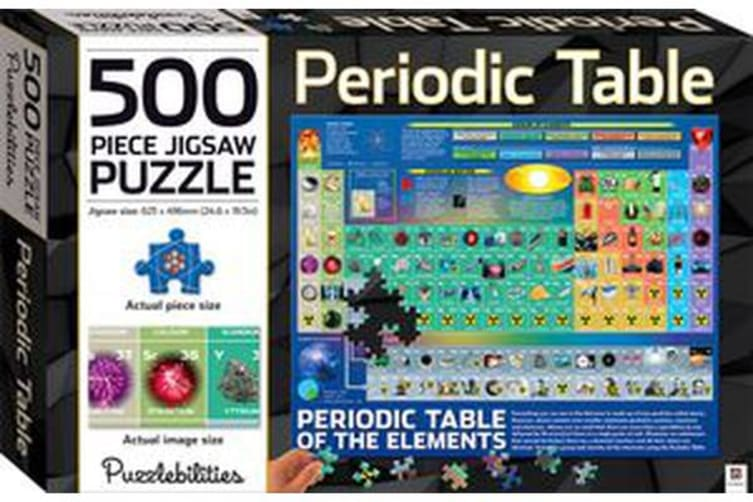 Periodic Table 500-piece Jigsaw Puzzle