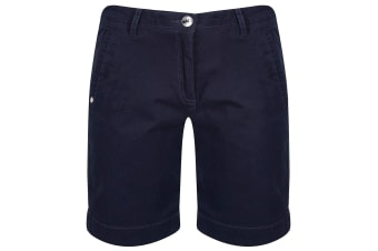 Regatta Womens/Ladies Solita Multi Pocket Active Shorts (Navy) (10 UK)