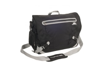 Trespass Mackintosh Laptop Bag (10 Litres) (Black)