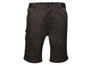 Regatta Mens Pro Cargo Shorts (Black) (30in)