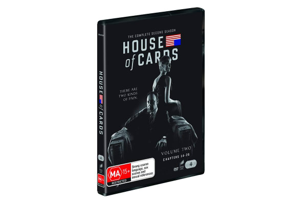House of Cards: The Complete Second Season DVD