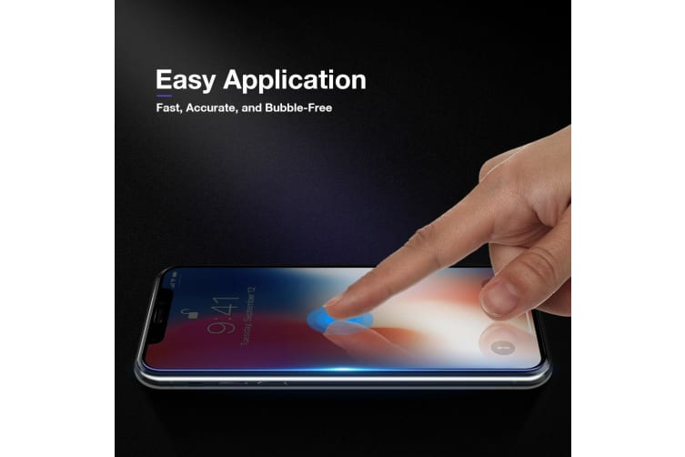 Full Coverage 9D 5D 9H Tempered Glass Screen Protector For Apple iPhone X