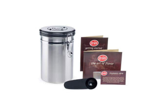 Friis Coffee Vault Storage Canister Available In Stainless Steel