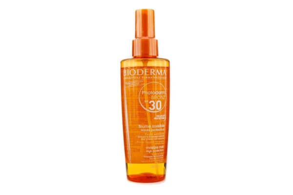 Bioderma Photoderm Bronz Invisible High Protection Spray SPF30 (For Sensitive Skin) (200ml/6.7oz)