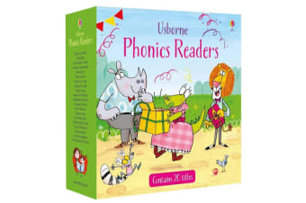 Usborne Phonics Readers 20 Book Set
