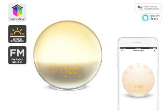 Kogan SmarterHome™ Smart Wi-Fi Sleep Aid & Wake Up Light