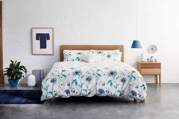 Jamie Durie By Ardor Geisha Quilt Cover Set (Queen)