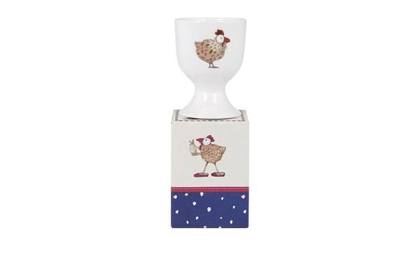 Ashdene Ruby Red Shoes Goes To London Egg Cup Chickens
