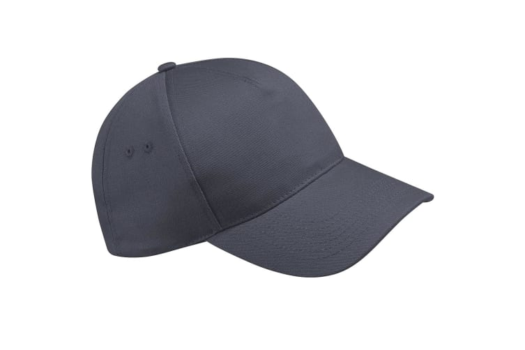 Beechfield Unisex Ultimate 5 Panel Baseball Cap (Graphite Grey) (One Size)