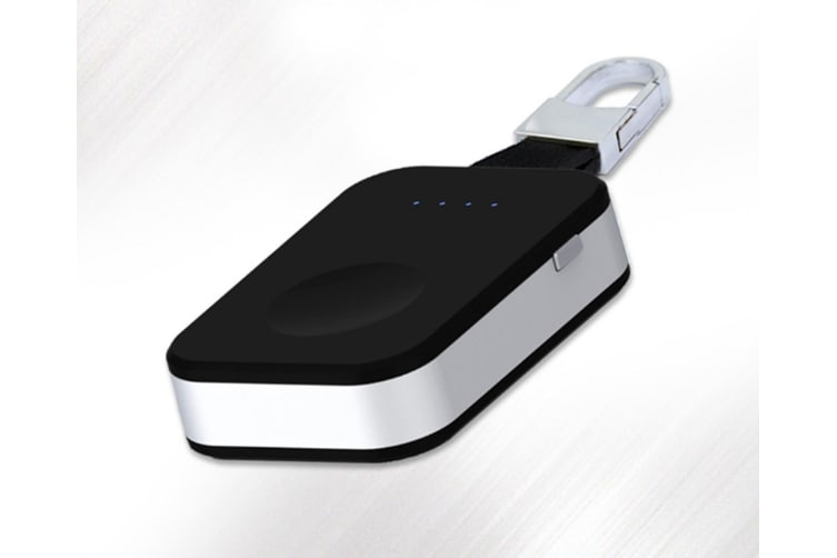 The Portable Wireless Charger Is Suitable For Iwatch 1,2,3,4 Generation - Black Black