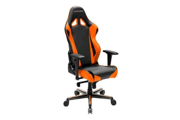 DXRacer Racing Series OH/RV001/NO Gaming/Ergonomic Chair (Orange) -   Sit Better. Work Harder. Game