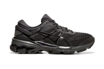 ASICS Women's Gel-Kayano 26 Running Shoe (Black/Black, Size  9.5 US)