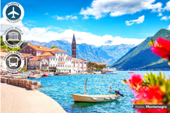 BALKANS & GREECE: 20 Day Grand Tour Including Flights for Two