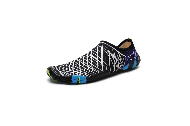 Beach Snorkeling Shoes Diving Lovers Wading Shoes Swimming Shoes 988 White 36