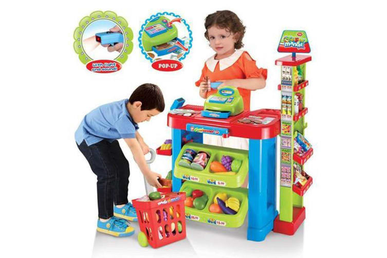 All Day Kids Toy Supermarket Play Set