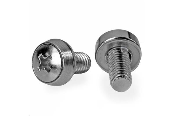 STARTECH CABSCREWSM62 M6 Mounting Screws - 100 Pack