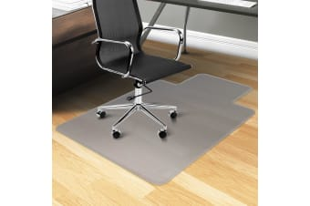 Bio-Design Hard Floor Office Computer Work Chair Mat-1350 x 1140mm Vinyl Protector