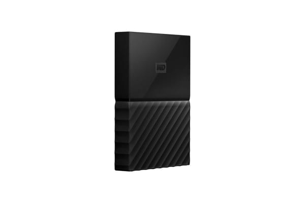 WD My Passport 4TB USB 3.0 Portable Hard Drive - Black (WDBYFT0040BBK-WESN)