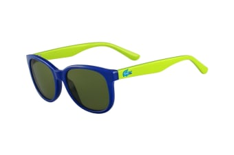 Lacoste Kids' Square Sunglasses - Blue/Green
