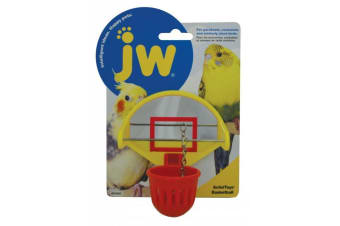 Basketball Bird Toy with Mirror for Small Birds by JW Insight
