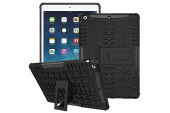 Heavy Duty ShockProof Case Cover Apple iPad 7th 10.2 2019-Black