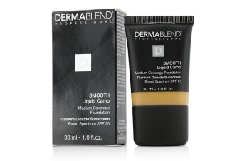Dermablend Smooth Liquid Camo Foundation SPF 25 (Medium Coverage) - Honey (45W) 30ml