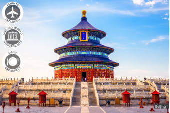 CHINA: 9 Day China Experience Plus Xian Tour Including Flights for One or Two