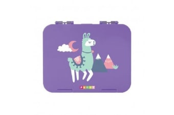 Penny Scallan Kids Lunch Bento Box Loopy Llama