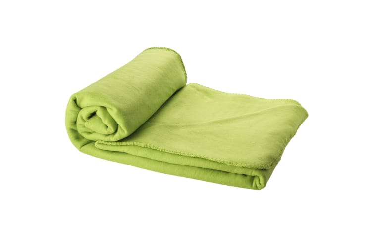 Bullet Huggy Blanket And Pouch (Lime Green) (150 x 120 cm)
