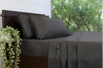 Ardor Gold Label 3000TC Sheet Set (King, Charcoal)