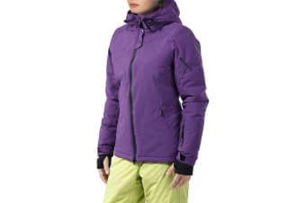 Komodo Womens Snow Jacket (Purple, X-Large)
