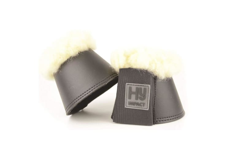 HyIMPACT Lambskin Over Reach Boots (One Pair) (Grey) (S)
