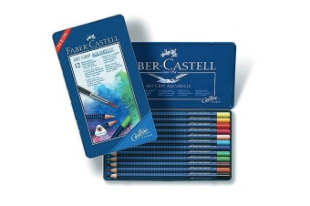 Faber-Castell Creative Studio Art Grip Watercolour Pencils (12 Pack)
