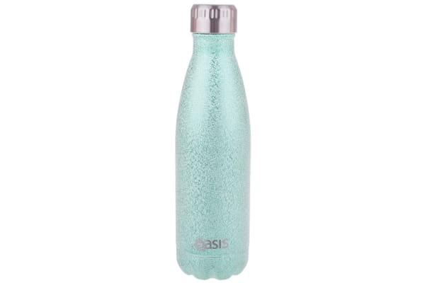 Oasis 500ml Water Thermo Bottle Stainless Steel Cold Hot Drink Shimmer Aqua
