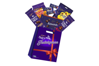 8pc Cadbury Indulgence Chocolate Showbag w/Flakes/Amonds/Fruit & Nut/Crunchie