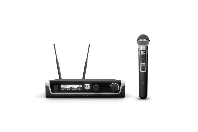 LD system LDU506HHD WIRELESS MIC SYS WITH DYMIC HAND HELD
