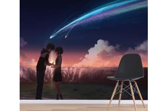 3D Your Name 073 Anime Wall Murals Woven paper (need glue), XXXL 416cm x 254cm (WxH)(164''x100'')