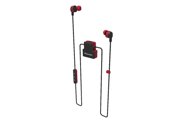 Pioneer Wireless Bluetooth In-Ear Headphones - Red (SECL5BTR)