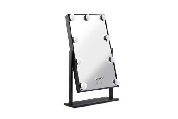 Embellir LED Standing Makeup Mirror (Black)