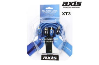 AXIS RCA Stereo Leads  3m