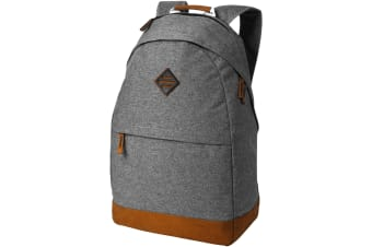 Avenue Echo 15.6in Laptop And Tablet Backpack (Grey Melange) (30 x 14 x 48 cm)