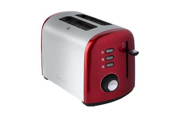 Westinghouse 2 Slice Toaster - Pearl Red
